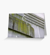 Nature claims architecture Greeting Card