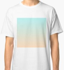 38916ddcfbea3 Pale Turquoise Tropical Paradise Ibiza Island Balearic Beach Classic T-Shirt