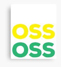 OSS - Brazilian Jiu-Jitsu Canvas Print