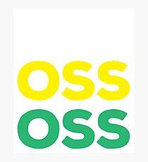 OSS - Brazilian Jiu-Jitsu Photographic Print
