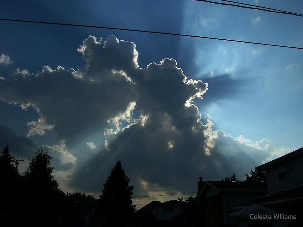 behind the clouds by Celeste Wlliams
