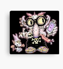 Mopey Phony Canvas Print