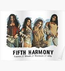 Fifth Harmony (Group ) - New June 2017 Poster