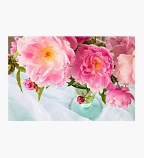 Vibrant Bouquet with filters Photographic Print