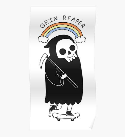 Grin Reaper Poster