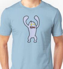 Cute Surprise Yeti Monster T-Shirt