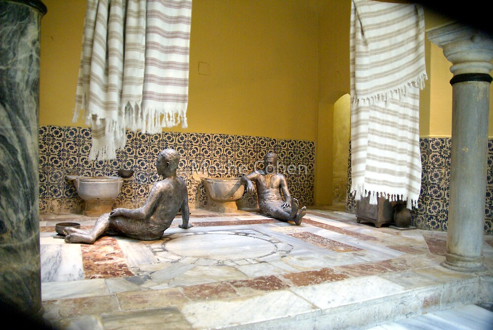 The turkish hamam Acre Israel by Moshe Cohen
