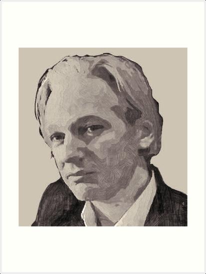 Julian Assange for Prime Minister of Australia by Albert