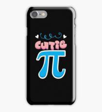 Cutie PI Math Shirt iPhone Case/Skin