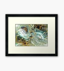 Caustic Framed Print