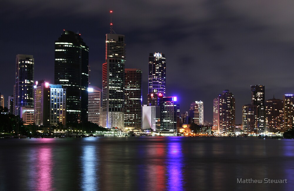 Brisbane by Matthew Stewart