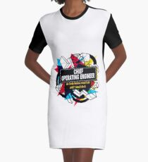 CHIEF OPERATING ENGINEER - NO BODY KNOWS Graphic T-Shirt Dress