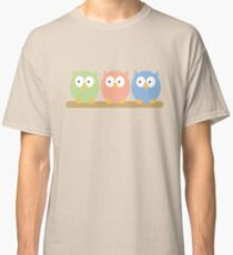 three owls Classic T-Shirt