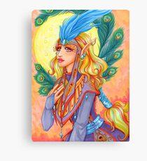 Carnival Priestess Canvas Print