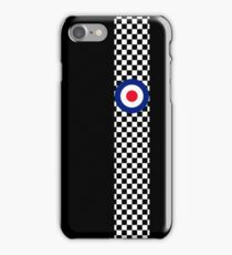 Classic Target Roundel Racing Checkers iPhone Case/Skin