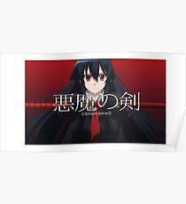 Demon Sword Akame  Poster