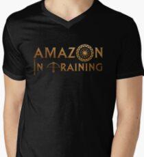 Amazon In Training Men's V-Neck T-Shirt