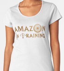 Amazon im Training Premium Rundhals-Shirt