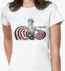 Elliott Smith Figure 8 Mural Women's Fitted T-Shirt