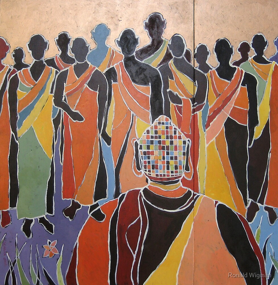 United Colours of Religion: Buddhism by Ronald Wigman