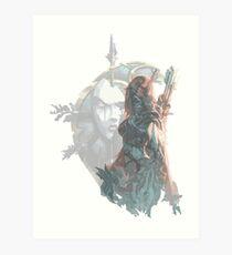 Sylvanas - Queen of the Undeads Art Print