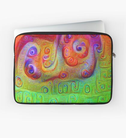 DeepDream Red to Green 5K Laptop Sleeve