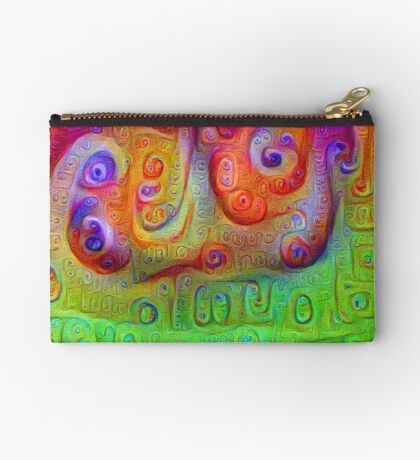 DeepDream Red to Green 5K Studio Pouch