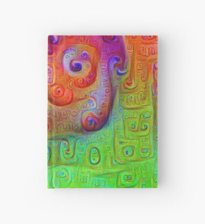 DeepDream Red to Green 5K Hardcover Journal