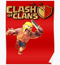 COC BARBARIAN Poster