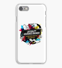 LAB QUALITY ASSURANCE ENGINEER - NO BODY KNOWS iPhone Case/Skin