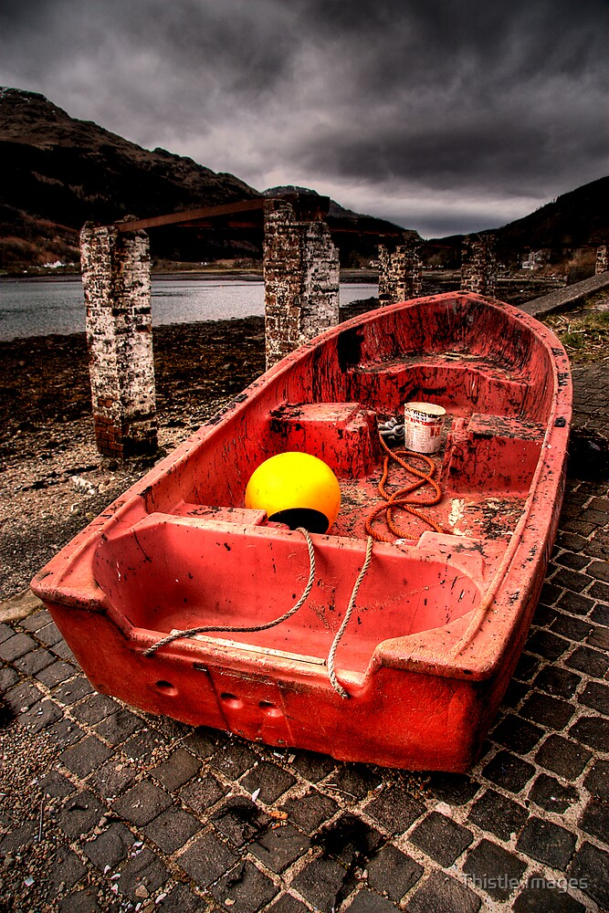 Arrochar Boat by Thistle Images