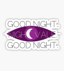Good Night, Nightvale Sticker