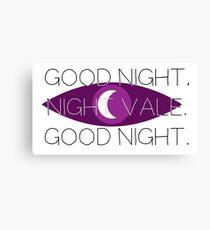 Good Night, Nightvale Canvas Print