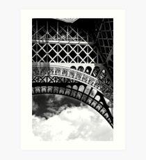 Etude Eiffel No. 1 Art Print