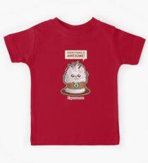 Cute Kitty Espresso Coffee Kids Clothes