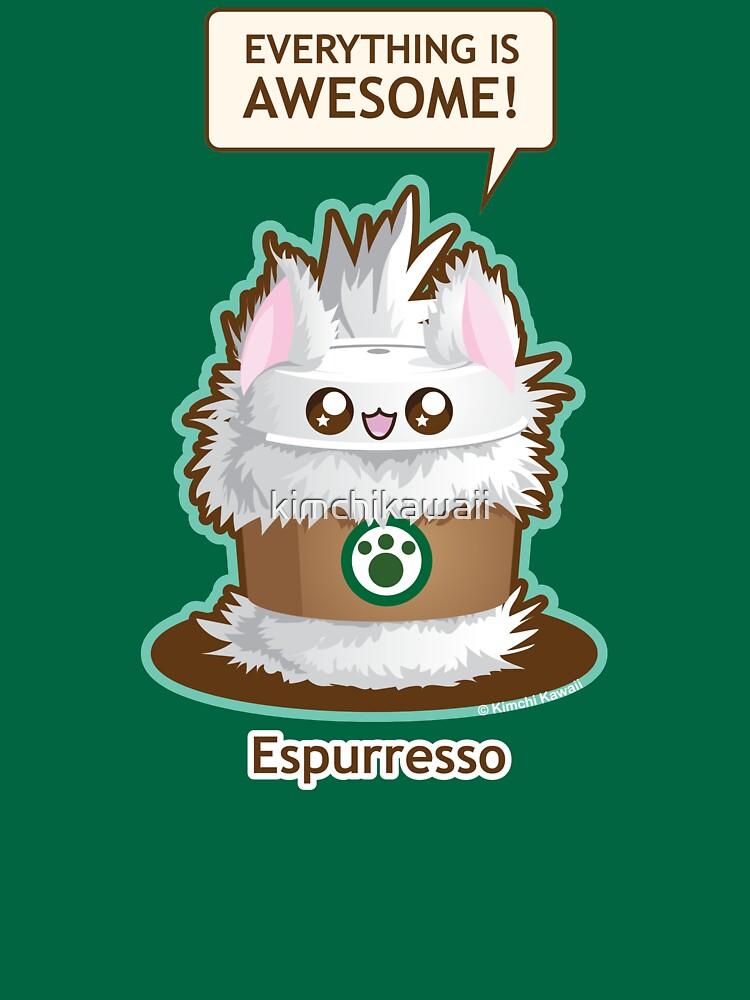 Cute Kitty Espresso Coffee by kimchikawaii