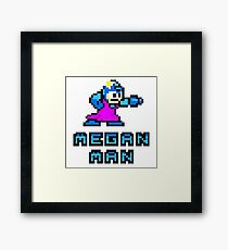 Megan Man Framed Print