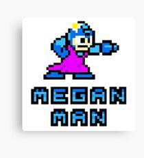 Megan Man Canvas Print