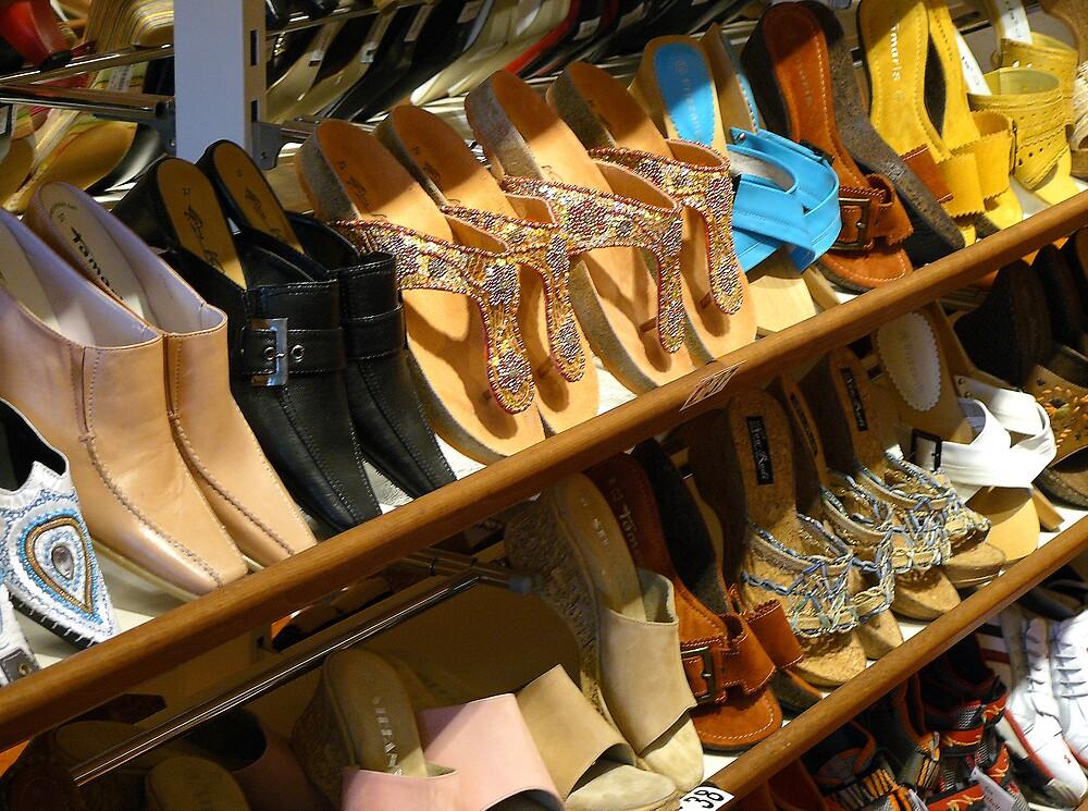 The Shoe Shop by BizziLizzy