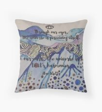 Alan Watts Throw Pillow