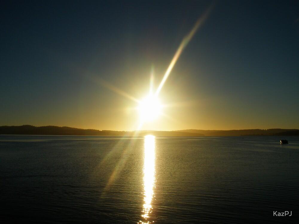 Bruny Sunrise by KazPJ
