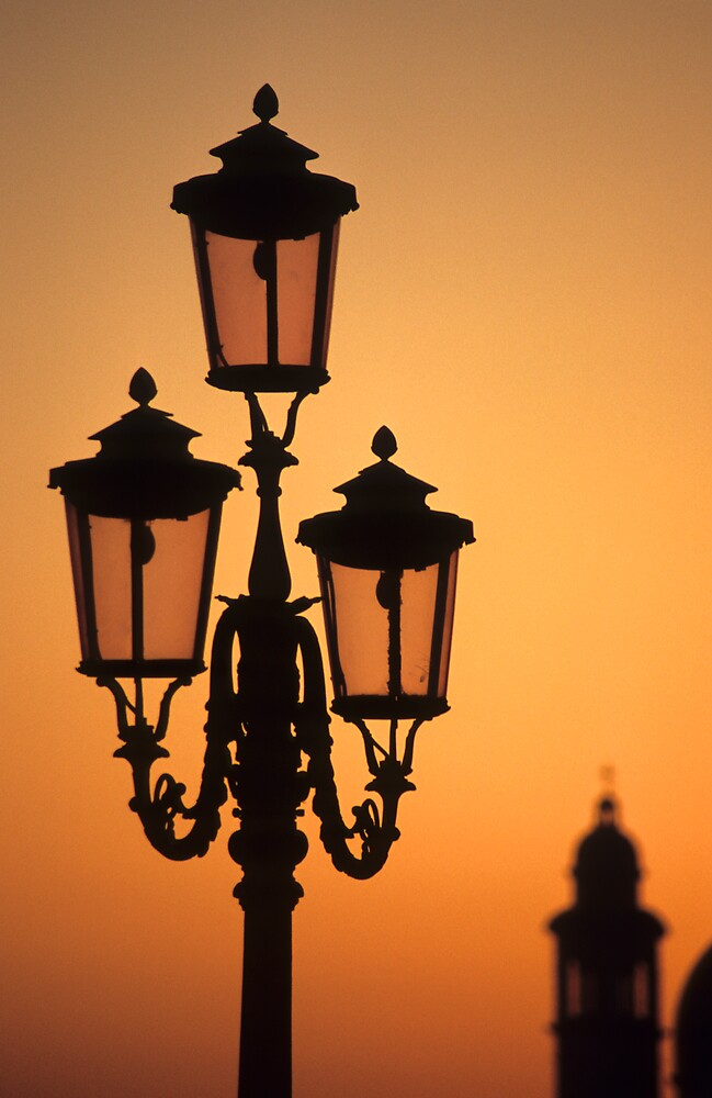 Venician Sunset by Kasia Nowak
