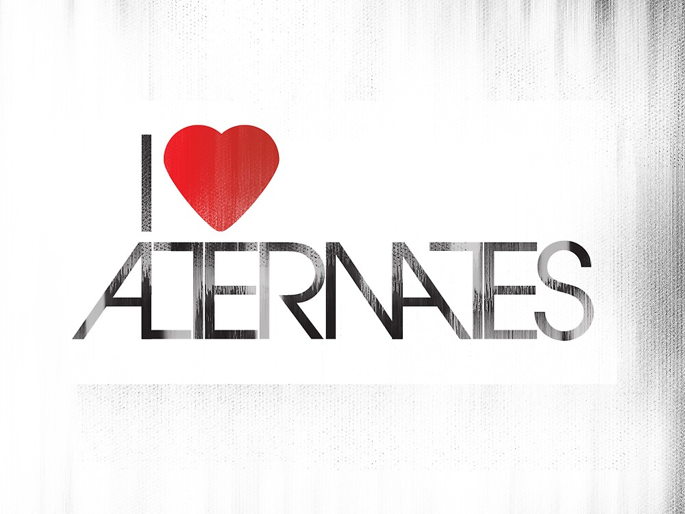 I heart alternates by karlos