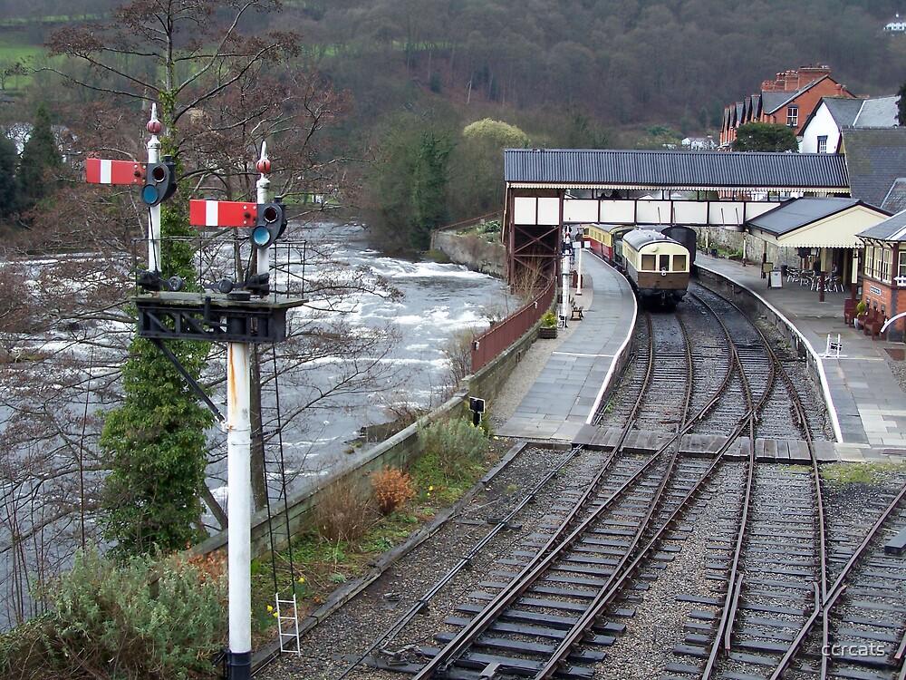 LLAGOLLEN RAILWAY STATION.  by ccrcats