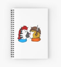 Warm Up Spiral Notebook