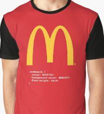 McDonald CSS Values Graphic T-Shirt