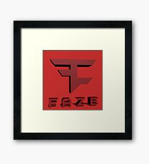 Faze Clan Logo Framed Print