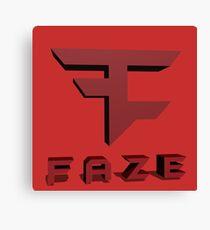 Faze Clan Logo Canvas Print