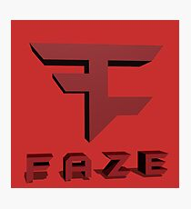 Faze Clan Logo Photographic Print