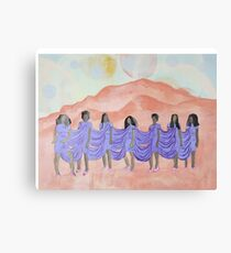 A Seat on the Mountaintop Canvas Print